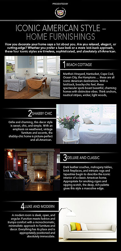 Home furnishing styles
