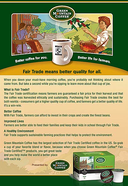 Fair Trade Coffee - Better Quality for All